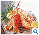 Roasted queen crab